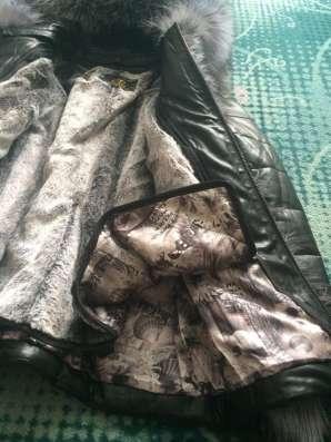 Новая кожаная куртка- жилетка в Москве Фото 1
