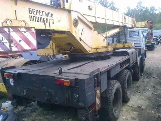 Продам автокран 36 тонный