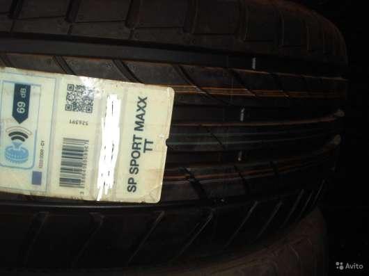 Новые немецкие Dunlop 245/45ZR17 макс тт в Москве Фото 1