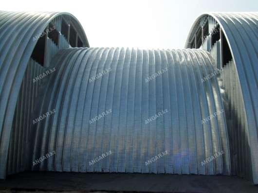 Строительство мобильных бескаркасных ангаров в г. Кызылорда