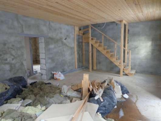 Дача 2-этажа, 160 кв. м пеноблок. Без отделки в г. Михнево Фото 3