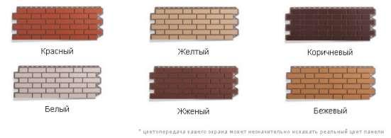 Коллекция фасадных панелей под кирпич на любой вкус