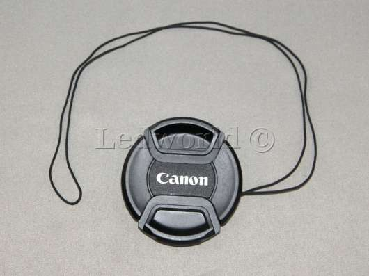 Защитная крышка для Canon 52мм со шнурком