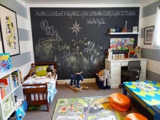 Меловые и маркерные обои, рисуй где хочешь! в Москве Фото 3