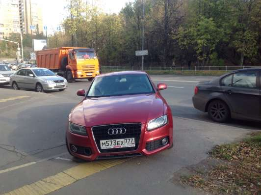 Продажа авто, Audi, A5, Вариатор с пробегом 120000 км, в Москве Фото 1