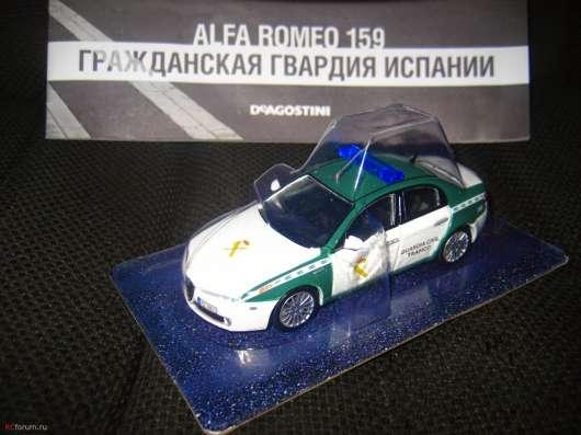 полицейские машины мира №43 ALFA ROMEO 159 в Липецке Фото 1