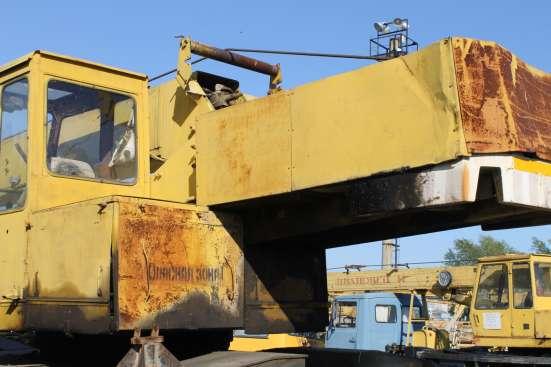 Автокран Краз Челябинец 25 тонн. На запчасти