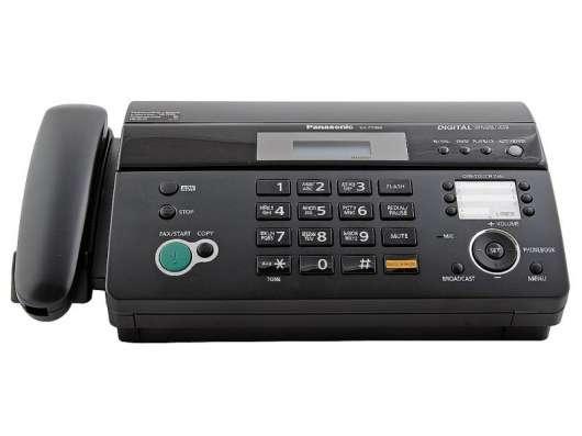 Продам факсимильный аппарат Panasonic KX-FT982RUB (black)