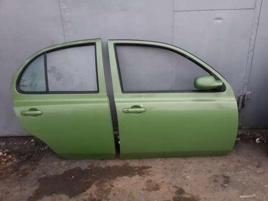 Двери правые Nissan Micra K12