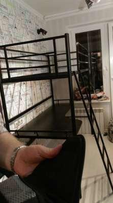 Кровать-чердак металлическая в Москве Фото 4