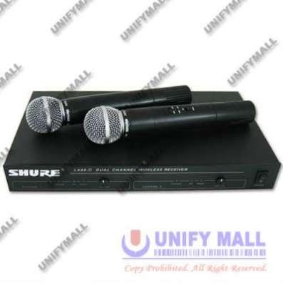 микрофон SHURE LX88-II радиосистема 2МИК
