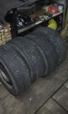 колёса зимние NORDMAN 195/65R15 в Калуге Фото 1