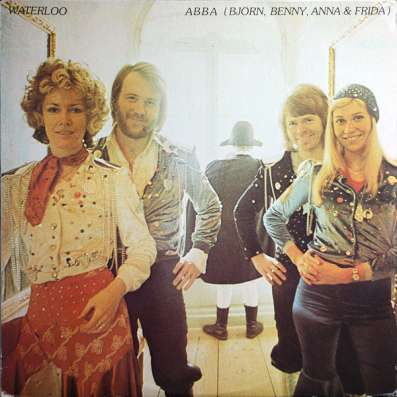 ABBA ‎– Waterloo(USA)