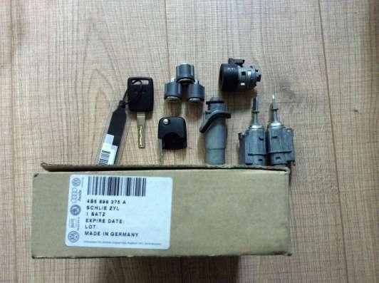 Комплект ключей с личинками 4B5898375A VAG Audi A6/S6/Avant