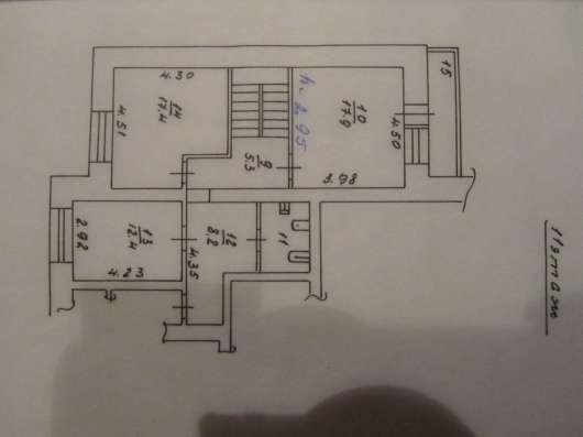 Продам 5-к. двухуровневую квартиру Взлетная 26 Б, 10-11 К в Красноярске Фото 2