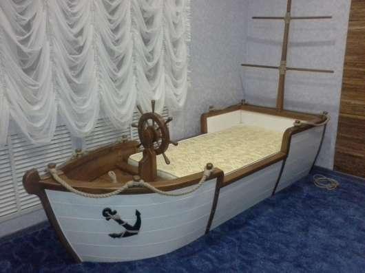Кровать-Корабль StolyarAtelier