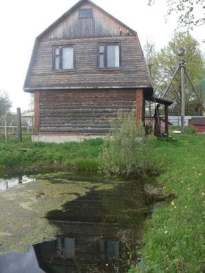 Продается бревенчатый дом с подполом, баня, участок 9 соток в Обнинске Фото 2