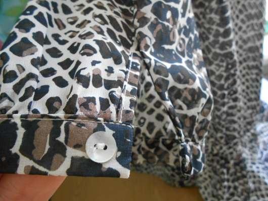 Блузка шифоновая, легкая, свободная