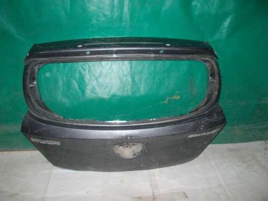 Крышка багажника на Hyundai Solaris х/б