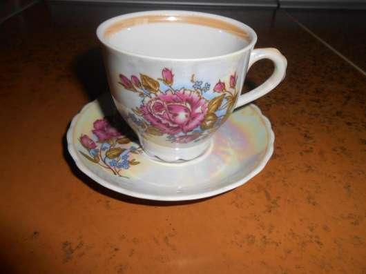 Кофейный сервиз «Роза» в г. Новая Каховка Фото 5