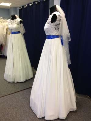 Нежное дизайнерское свадебное платье в Москве Фото 3