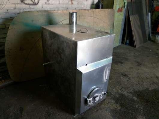 Печь из нержавеющей стали в Бердске Фото 1