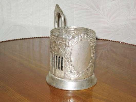 Подстаканник (мельх.) зеркало кольчугино