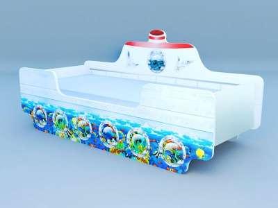 Кроватка Кораблик № 1
