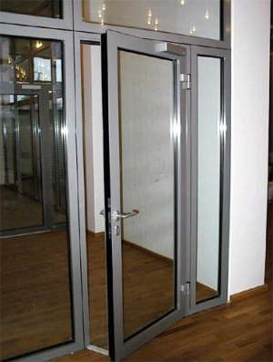 Двери алюминиевые в Сочи Фото 4