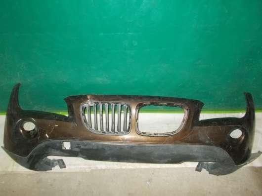 Передний бампер на BMW X1 E84