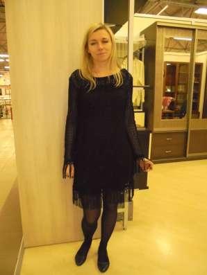 Платье черное коктельное, новое, р.44-46(М-L)