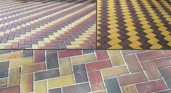 Тротуарная плитка КИРПИЧ в Ижевске Фото 1