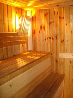 Дом-баня посуточно для приятного и полезного отдыха. Собственник. Черта города