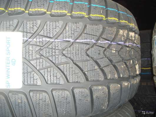 Новые Dunlop 225 50 R17 Winter Sport 4D ROF MOE