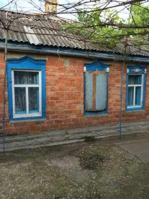 В ст. Темижбекской дом 56 кв. м. на участке 30 соток