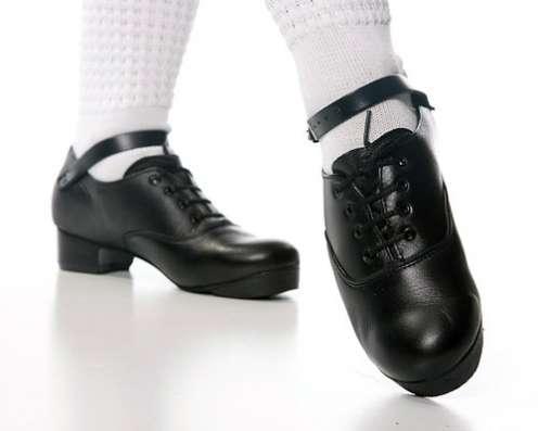 """Туфли для ирландских танцев """"жесть""""38р"""
