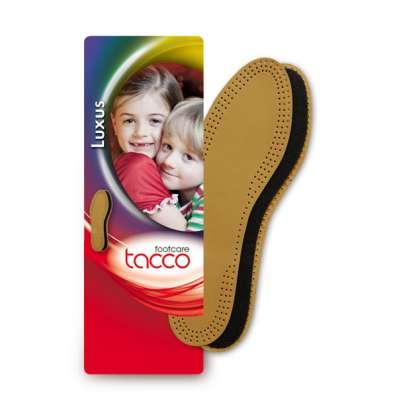Tacco Luxus Kids Aрт.613 – стельки детские кожаные двухслойн