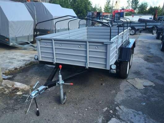 Легковой автомобильный прицеп 2ух осный 2.7х1.5м КРД 108 в Москве Фото 2