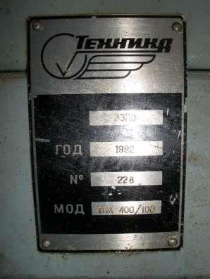 Термопластавтомат ТПА 400/100, ООО ПКФ «Калибр СТ»