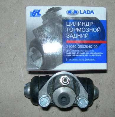 Цилиндр тормозной задний ВАЗ