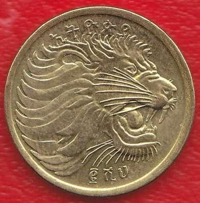 Эфиопия 5 центов 2002 / 2010 г