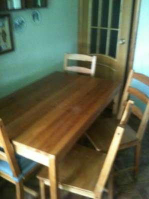 стол и 4 стула ИКЕА