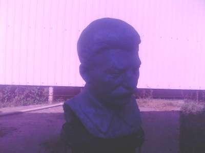 бюст Сталина.1930=1940г.Натур.величина в Сочи Фото 1