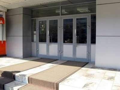 Двери алюминиевые в Сочи Фото 2