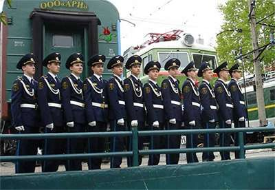 Кадетская форма железнодорожников в Челябинске Фото 3