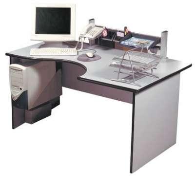 Дин-Р столы эргономичные серые