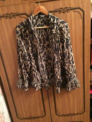 Блузка леопардовая