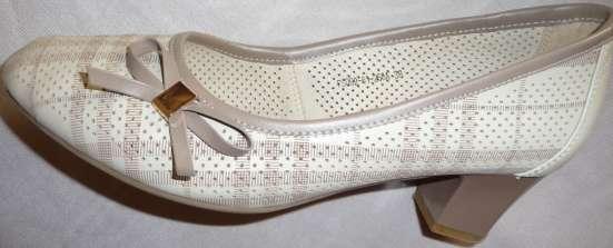 Туфли в клеточку, натуральная кожа, р-38