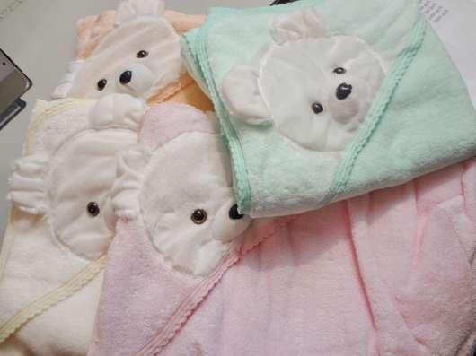 Полотенце детское махровое