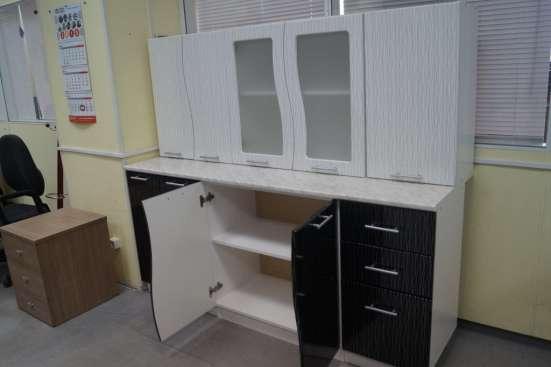 Кухня Волна Черно-белый дождь 1,6 м в Екатеринбурге Фото 4